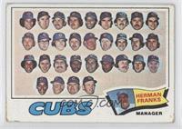 Chicago Cubs Team, Herman Franks [GoodtoVG‑EX]