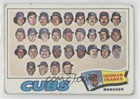 Chicago Cubs Team, Herman Franks [PoortoFair]
