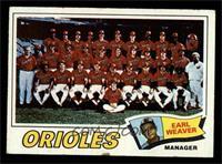 Baltimore Orioles Team, Earl Weaver [FAIR]