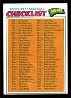 Checklist (529-660) [VGEX]