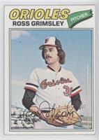 Ross Grimsley [GoodtoVG‑EX]