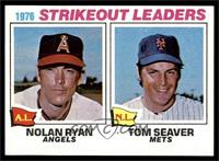1976 Strikeout Leaders (Nolan Ryan, Tom Seaver) [NM]