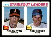 1976 Strikeout Leaders (Nolan Ryan, Tom Seaver) [VG EX]