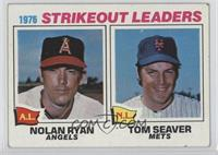 1976 Strikeout Leaders (Nolan Ryan, Tom Seaver) [Good to VG‑EX]