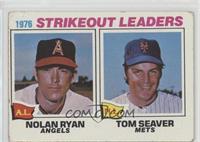 1976 Strikeout Leaders - Nolan Ryan, Tom Seaver [PoortoFair]