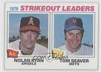 1976 Strikeout Leaders - Nolan Ryan, Tom Seaver [GoodtoVG‑EX]