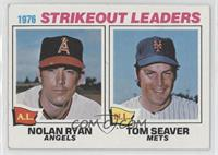 1976 Strikeout Leaders - Nolan Ryan, Tom Seaver