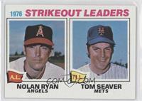 1976 Strikeout Leaders - Nolan Ryan, Tom Seaver