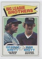 Big League Brothers - George Brett, Ken Brett [GoodtoVG‑EX]