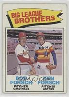 Big League Brothers - Bob Forsch, Ken Forsch [Poor]