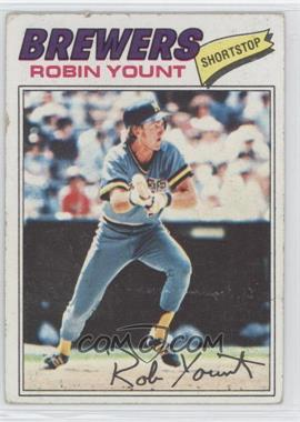 1977 Topps - [Base] #635 - Robin Yount