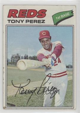 1977 Topps - [Base] #655 - Tony Perez [PoortoFair]
