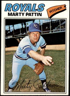 1977 Topps - [Base] #658 - Marty Pattin [EX]