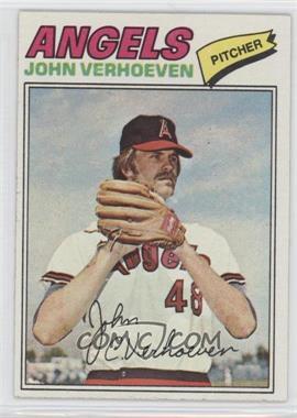 1977 Topps - [Base] #91 - John Verhoeven
