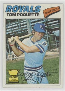 1977 Topps - [Base] #93 - Tom Poquette