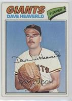 Dave Heaverlo [Good to VG‑EX]