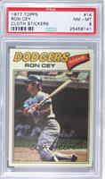 Ron Cey (Two Stars at Back Bottom) [PSA 8 NM‑MT]