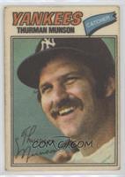 Thurman Munson (Two Stars at Back Bottom)