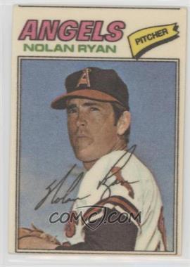 1977 Topps Baseball Patches Cloth Stickers - [Base] #40 - Nolan Ryan