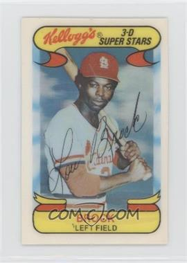 1978 Kellogg's 3-D Super Stars - [Base] #7 - Lou Brock [PoortoFair] - Courtesy of COMC.com