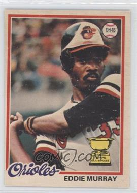 1978 O-Pee-Chee - [Base] #154 - Eddie Murray