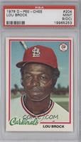Lou Brock [PSA 9 MINT (OC)]