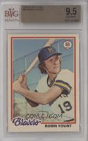 Robin Yount [BVG 9.5 GEM MINT]