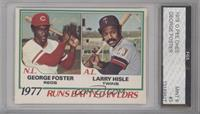 George Foster, Larry Hisle [ENCASED]