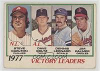 Steve Carlton, Jim Palmer, Dave Goltz, Dennis Leonard [Poor]
