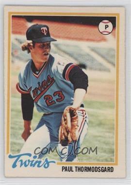 1978 O-Pee-Chee - [Base] #73 - Paul Thormodsgard