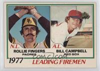 Rollie Fingers, Bill Campbell