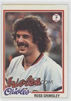 Ross Grimsley Baseball Cards