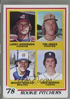 '78 Rookie Pitchers (Larry Andersen, Tim Jones, Mickey Mahler, Jack Morris) [Po…