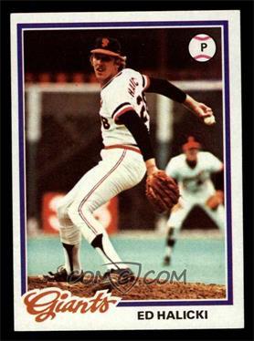 1978 Topps - [Base] #107 - Ed Halicki [NM]
