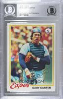 Gary Carter [BAS Certified Encased by BGS]