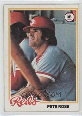 1978 Topps - [Base] #20 - Pete Rose
