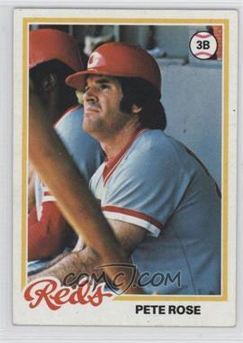 1978 Topps - [Base] #20 - Pete Rose