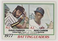 Rod Carew, Dave Parker