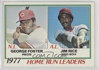 George Foster, Jim Rice