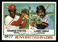 George Foster, Larry Hisle [NM MT]