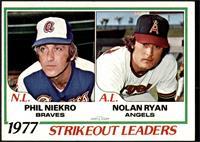 Strikeout Leaders (Phil Niekro, Nolan Ryan) [EXMT]