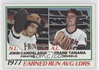 John Candelaria, Frank Tanana