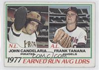 John Candelaria, Frank Tanana [GoodtoVG‑EX]