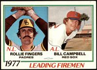 Rollie Fingers, Bill Campbell [EXMT]