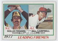 Rollie Fingers, Bill Campbell [Good to VG‑EX]