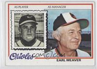 Earl Weaver [Noted]