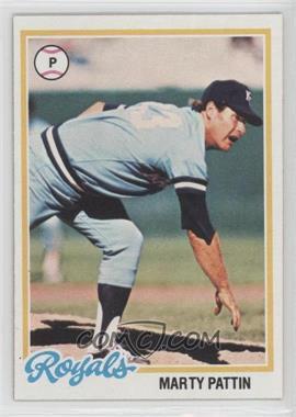 1978 Topps - [Base] #218 - Marty Pattin