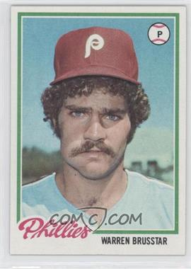 1978 Topps - [Base] #297 - Warren Brusstar