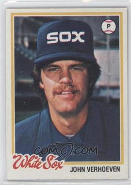 1978 Topps - [Base] #329 - John Verhoeven