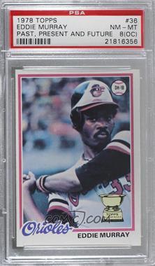 1978 Topps - [Base] #36 - Eddie Murray [PSA8NM‑MT(OC)]